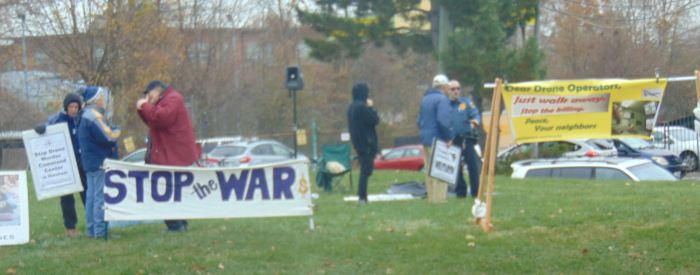 Horsham Air Base protest